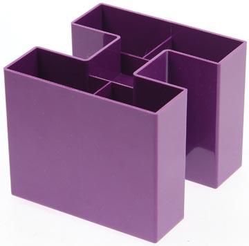 Gallery potloodbakje Bicolor paars