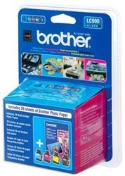 Brother bundelverpakking met 1 cartridge LC-900 en 1