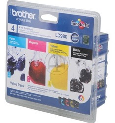 Brother inkcartridge LC-980VALBP 4-color