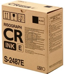S2487 RISO CR1610 INK BLACK 800ml