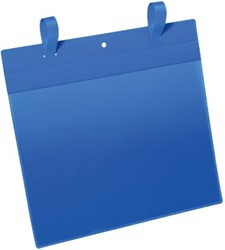 Durable documenthouder ft A4, met sluitriemen, horizontaal, pak van 50 stuks