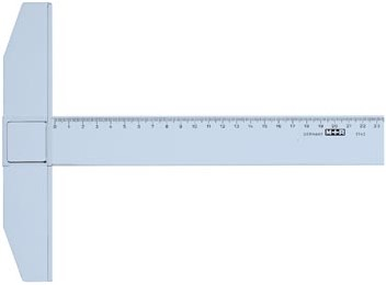 Mobius T-liniaal 60 cm