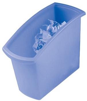 Han papiermand Mondo transparant blauw