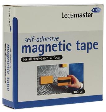 Magneetband Legamaster 12 mm X 3 meter zelfklevend