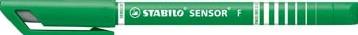 Stabilo fineliner Sensor (serie 187 - 189) groen