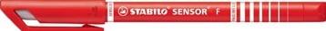 Stabilo fineliner Sensor (serie 187 - 189) rood