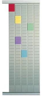 Nobo planbordpaneel index 4, 32 vakjes 66 x 12,8 cm