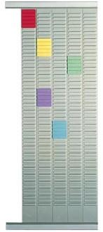 Nobo planbordpaneel index 4, 54 vakjes, ft 96 x 12,8 cm