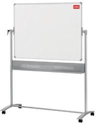 Verrijdbaar whiteboard 120x90cm Nobo Prestige emaille
