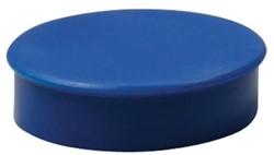 Nobo Magneten, diameter 38 mm, blauw, blister van 4 stuks
