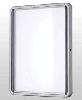 Wandvitrinekast voor 6 x A4 voor binnengebruik Nobo