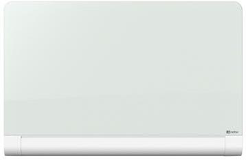 Nobo Diamond glasbord met pennengoot ft 126 x 71,1 cm