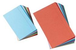 Class'ex gekleurde systeemkaarten ft 7,5 x 12,5 cm