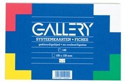 Class'ex gekleurde systeemkaarten ft 10 x 15 cm
