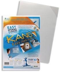 Tarifold tas met magnetische rug geschikt voor ft A3 wit
