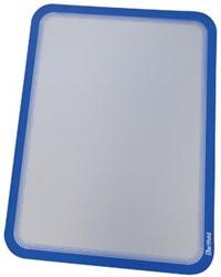 Tarifold tas met magnetische rug, ft A4 blauw, pak van 2 stuks