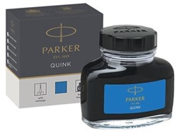 Parker Quink inktpot koningsblauw