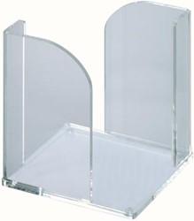 Maul acryl memobox zonder memo's, ft 9 x 9 cm