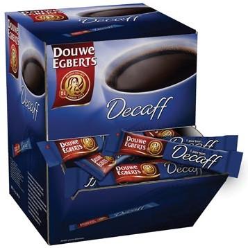 Douwe Egberts Instant sticks Decafeïne doos van 200 stuks