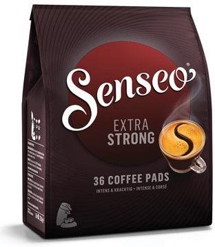 Douwe Egberts SENSEO Extra Strong zakje van 36 koffiepads