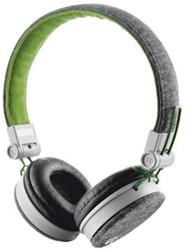 Trust Headset voor smartphones, tablets en laptops, groenen grijs