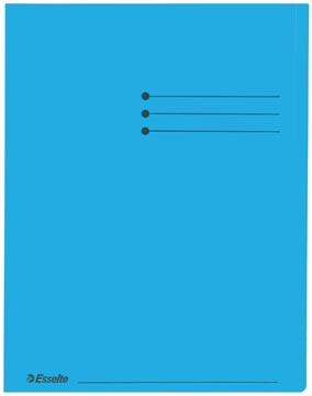 Dossiermap A4 blauw
