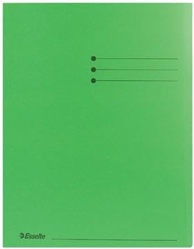 Dossiermap A4 groen