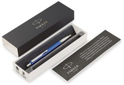 Parker balpen Vector, medium, in giftbox, blauw