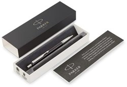 Parker balpen Vector, medium, in giftbox, zwart