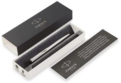 Parker balpen Vector, medium, in giftbox, Steel