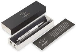 Parker balpen Vector, medium, in giftbox, wit