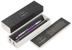 Parker balpen Vector, medium, in giftbox, paars