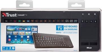 Trust Sento Smart TV toetsenbord voor Samsung, azerty