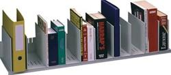 Boekenstandaard met 12 verstelbare tussenschotten
