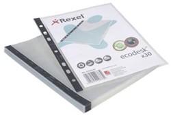 Rexel Ecodesk showtas, voor ft A5, transparant, pak van 30