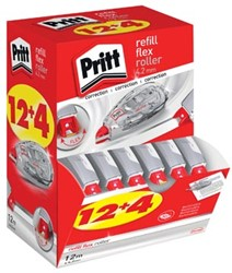 Pritt correctieroller Refill Flex 4,2 mm x 12 m, doos 12 + 4 gratis