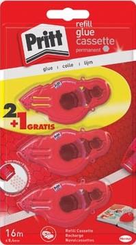 Pritt vulling voor lijmroller Refill permanent blister 2 + 1 gratis