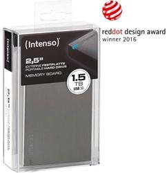 INTENSO 2.5 HDD FESTPLATTE EXTERN 1.5TB 6028670 USB 3.0 Memory Board anthrazit