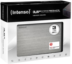 INTENSO 3.5 HDD DRIVE EXTERNAL 3TB 6033511 USB 3.0 stationary anthracite