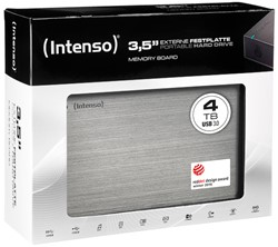 INTENSO 3.5 HDD DRIVE EXTERNAL 4TB 6033512 USB 3.0 stationary anthracite