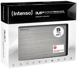 INTENSO 3.5 HDD FESTPLATTE EXTERNAL 5TB 6033513 USB 3.0 stationary anthracite