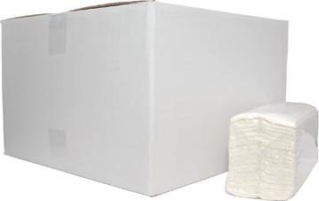 Europroducts papieren handdoeken C-vouw 2-laags 152 vellen pak van 16 stuks