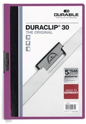 Durable klemmap Duraclip Original 30 lila