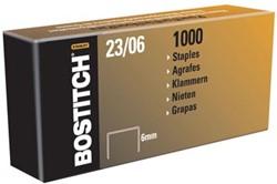 Bostitch nietjes 23-6-1M, 6 mm, verzinkt, voor PHD60, B310HDS, HD-23L17