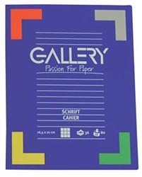 Gallery schriften 72 bladzijden, gelijnd