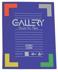 Gallery schriften 72 bladzijden, geruit 5 mm