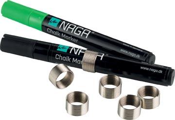 Naga magnetische ring voor markers 4,5 mm, blister met 6 stuks