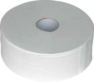 Europroducts Toiletpapier Jumbo toiletpapier rol van 380 m 2-laags