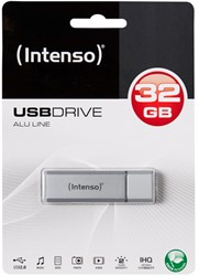 INTENSO USB STICK 2.0 32GB SILBER 3521482 28MB/s USB 2.0 silver