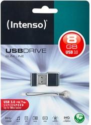 INTENSO USB DRIVE 3.0 8GB BLK 3532460 35MB/s USB 3.0 black